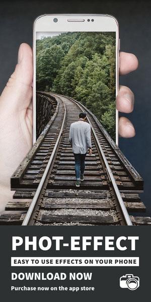Phot-effect Advertisement Flyer