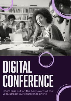 Digital Conference Flyer Stream