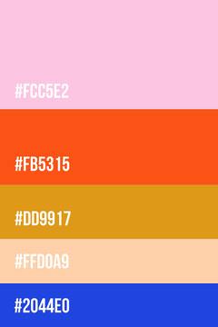 Color Palette Pinterest Graphic Crafts