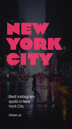 new york instagram story City