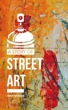 Colorful, Orange and Red, Street Art Story, Kindle Book Cover Paint