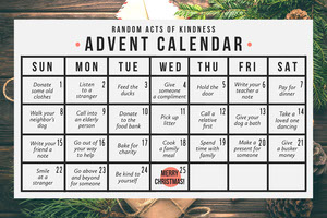 Christmas poster Kalendere