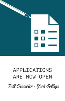 APPLICATIONS ARE NOW OPEN School Posters