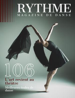 Grey Dancer Rhythm Magazine Cover  Couverture de magazine