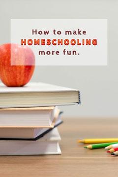 White How To Make Homeschooling More Fun Pinterest Kids