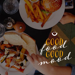 good food instagram  Burger
