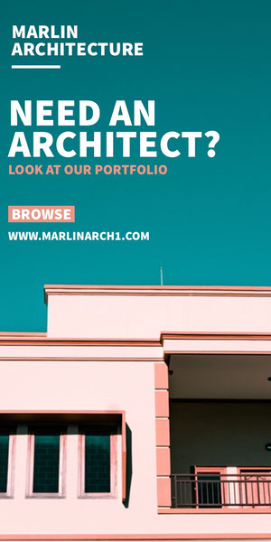 NEED AN ARCHITECT?<BR> Werbeflyer