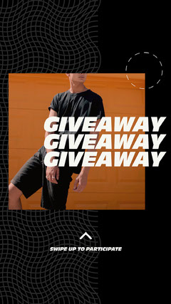 Black and Orange, Giveaway Fashion Event, Instagram Story Giveaway