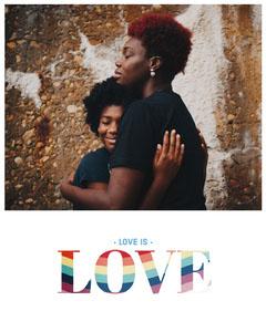 Warm Toned Happy Woman Couple Instagram Portrait Love