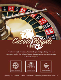Casino Royale Dog Flyer