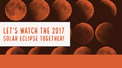 Black, White and Red Solar Eclipse Facebook Banner Event Cover Event Banner