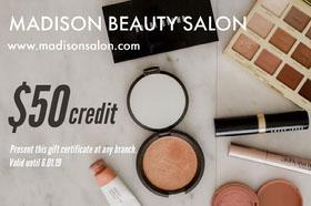 Bright Beauty Salon Gift Certificate  Chèque cadeau