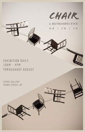 Chair Veranstaltungs-Flyer