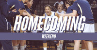 Blue and White Homecoming Sport Event Facebook Banner Basketball