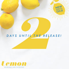 Yellow Lemon Essential Oil Square Instagram Ad Countdown