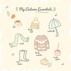 My Autumn Essentials Autumn