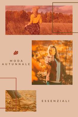 autumn fashion pinterest Collage di foto