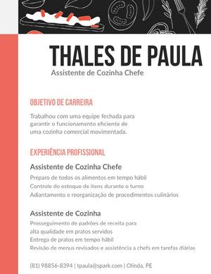 Thales de Paula Currículo