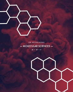 Dark Toned Molecular Science Instagram Portrait Science