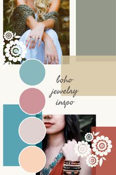 fashion Pinterest mood board  Jewelry