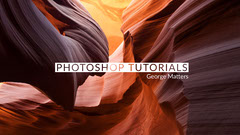 Photoshop Tutorial Youtube Channel Art Banner with Canyon Tutorial