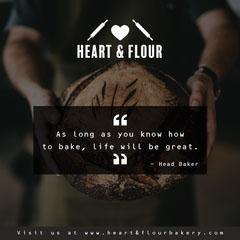 Brown Bakery Instagram Square Bakery