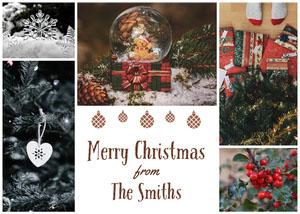 Family Christmas Card Carte de Noël
