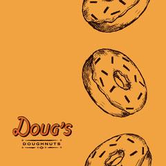 doughnut illustration instagram Dessert