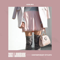 Contemporary Stylists 2021 Lookbook IG Square Dress