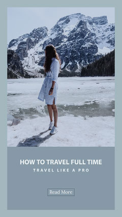 How to travel full time Mountains