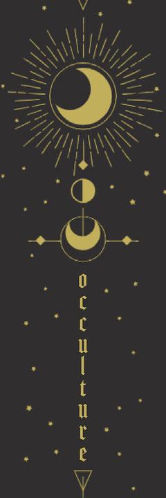 Occulture Bookmark Moon