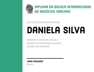 Daniela Silva  Diploma