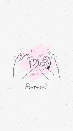 Pink and Grey Forever! Phone Wallpaper Stars