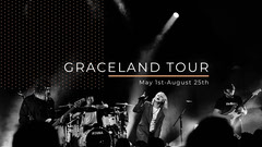 Black and White Music Band Concert Tour Youtube Channel Art Banner Band