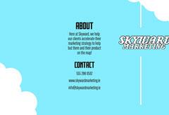 Blue Sky Skyward Marketing Brochure Marketing