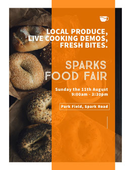 SPARKS FOOD FAIR Flyer