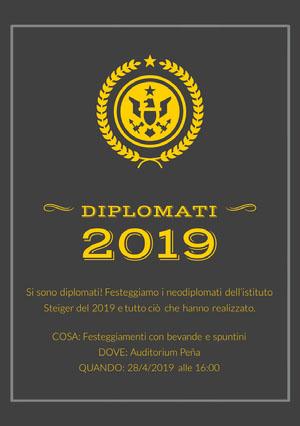 graduation announcements  Biglietto di laurea