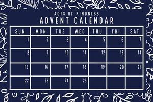 Christmas poster  Calendarios