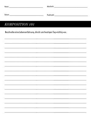 writing composition worksheet  Arbeitsblatt