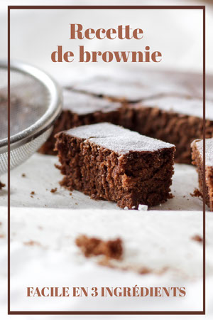 brown frame Brownie Recipe - Pinterest Post Épingle Pinterest