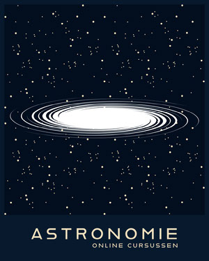 astronomy online course ad Reclame flyer