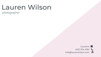 Lauren Wilson  Business Card