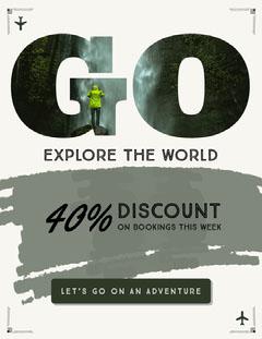 Travel Explore Newsletter Adventure