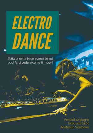 Electro<BR>Dance Invito a una festa