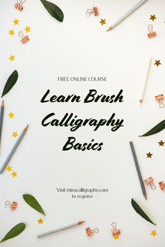 green and white calligraphy course pinterest  Leaf