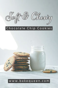 White and Black Soft and Chewy Chocolate Chip Cookies Pinterest Bakery