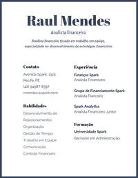 Raul Mendes Resume for Freshers