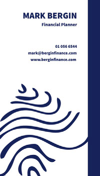 MARK BERGIN Business Card