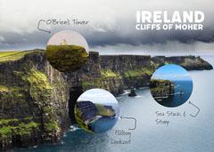 Ireland Cliffs of Moher Instagram Portrait Ocean