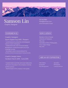 Samson Lin Purple